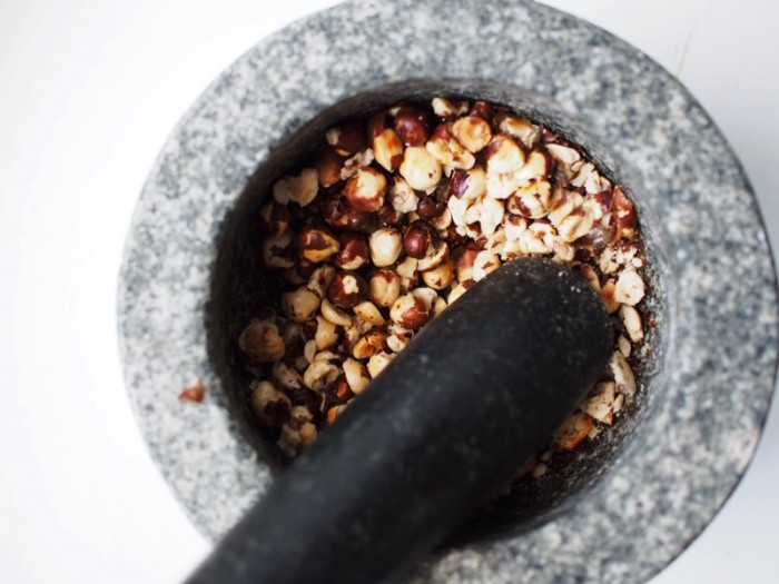 Munakoiso-hasselpähkinäpasta