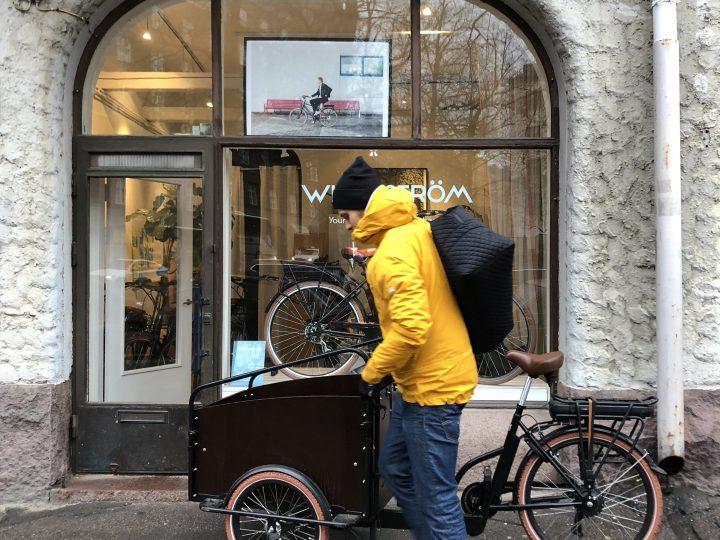 Laatikkopyörän luksusta kaupungissa (sis. edun)